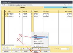 Click image for larger version.  Name:Cash book export open batch.jpg Views:77 Size:49.2 KB ID:7667